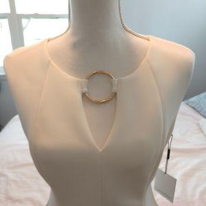 NWT Calvin Klein White Dress